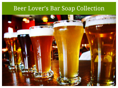OverSoyed Fine Organic Beer Lover's Soap Collection
