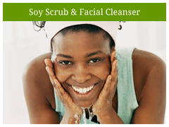 OverSoyed Fine Organic Soy Scrub & Facial Cleanser